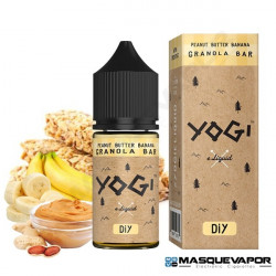 PEANUT BUTTER & BANANA GRANOLA BAR FLAVOUR 30ML YOGI