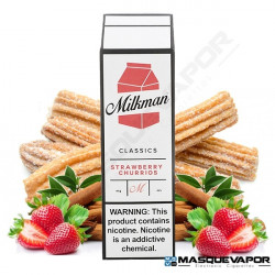 STRAWBERRY CHURRIOS BY MILKMAN TPD 50ML 0MG