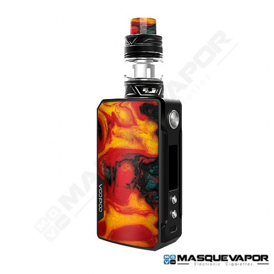 DRAG 2 KIT WITH UFORCE T2 VOOPOO BLACK FIRE CLOUD