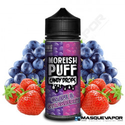 GRAPE AND STRAWBERRY MOREISH PUFF TPD 100ML 0MG