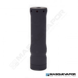 THE VINDICATOR 21700 MECH MOD BY KENNEDY VAPOR BLACK CERAKOTED