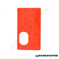 DOOR ENGRAVED SVF V4 BF MOD TRANSPARENT NEON ORANGE