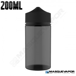 200ML CHUBBY GORILLA UNICORN BOTTLE BLACK