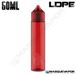 60ML CHUBBY GORILLA LDPE BOTTLE RED