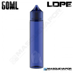 60ML CHUBBY GORILLA LDPE BOTTLE BLUE