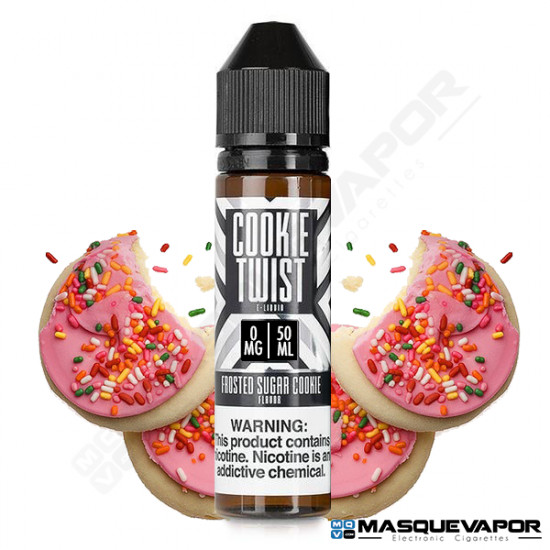 COOKIE TWIST FROSTED SUGAR COOKIE 50ML TPD 0MG
