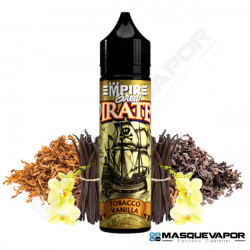 TOBACCO & VANILLA PIRATE VAPE EMPIRE BREW TPD 50ML 0MG