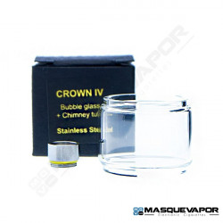 CONECTOR CROWN IV BUBBLE GLASS / CHIMNEY UWELL 5ML
