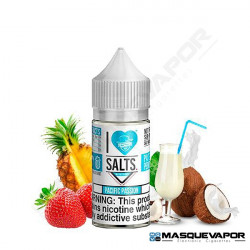 PACIFIC PASSION I LOVE SALTS MAD HATTER JUICE TPD 10ML 20MG