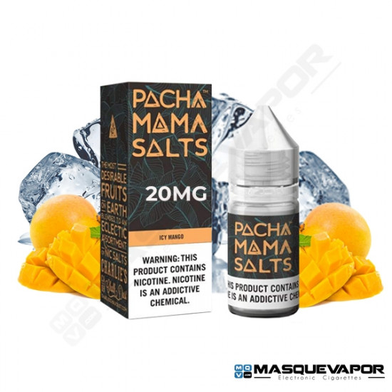 APPLE TOBACCO BY PACHA MAMA SALT TPD 10ML 20MG
