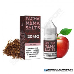 APPLE TOBACCO BY PACHAMAMA SALT TPD 10ML 20MG