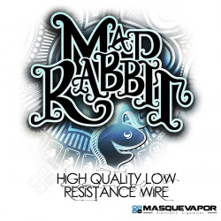 LOW RESISTANCE SS316L WIRE 20G 20FT MAD RABBIT
