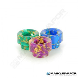 DRIP TIP 810 EPOXY RESIN PEPITE DOREE