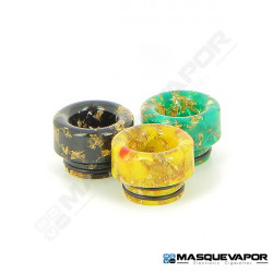 DRIP TIP 810 EPOXY RESIN PEPITE DOREE TFV8 / TFV12