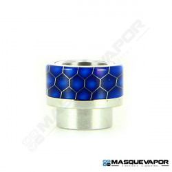DRIP TIP 810 EPOXY RESIN HONEYCOMB BLEU