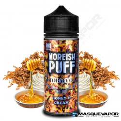 HONEY & CREAM MOREISH PUFF TOBACCO TPD 100ML 0MG