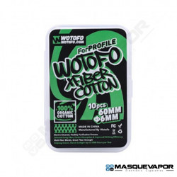 COTTON XFIBER PROFILE 10PCS BY WOTOFO
