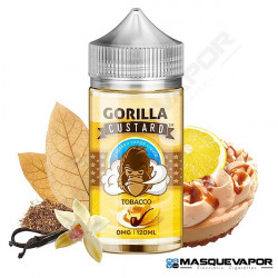 TOBACCO GORILLA CUSTARD TPD 100ML 0MG