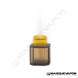 SQUONK BOTTLE 2.7ML OCTAGON FOR BF MOD BLACK ULTEM