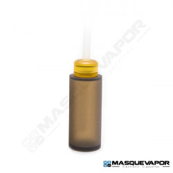 SQUONK BOTTLE 6ML ROUND FOR BF MOD BLACK ULTEM CAP
