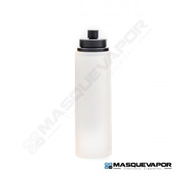 REFILL BOTTLE 30ML ROUND CLEAR BLACK CAP
