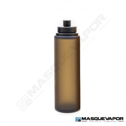 REFILL BOTTLE 30ML ROUND BLACK / BLACK CAP