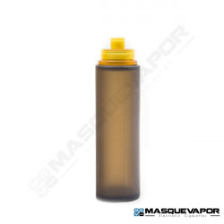 REFILL BOTTLE 30ML ROUND BLACK ULTEM CAP
