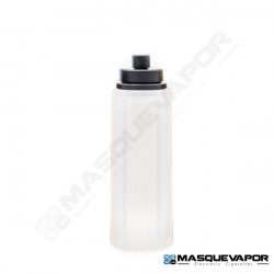 REFILL BOTTLE 30ML OCTAGON CLEAR BLACK CAP