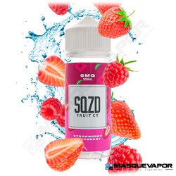STRAWBERRY RASPBERRY SQZD FRUIT TPD 100ML 0MG