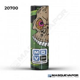 5 X WRAPS 20700 RADIACTIVE SKULL