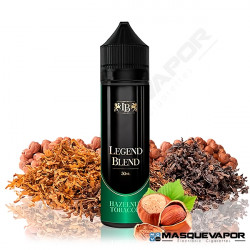 HAZELNUT TOBACCO LEGENDS BLEND 50ML TPD 0MG