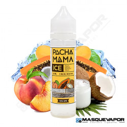 ICE PEACH PAPAYA COCONUT CREAM PACHAMAMA TPD 50ML 0MG