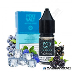 BLUE BERG POD SALT E-LIQUIDS TPD 10ML 20MG