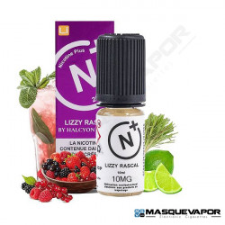 LIZZY RASCAL HALCYON HAZE NICOTINE PLUS SALT TPD 10ML 10MG