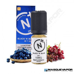 BLACK N BLUE T-JUICE NICOTINE PLUS SALT TPD 10ML 10MG
