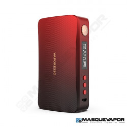 VAPORESSO GEN 220W BOX MOD BLACK RED