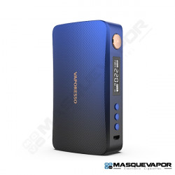 GEN 220W BOX MOD VAPORESSO BLACK BLUE