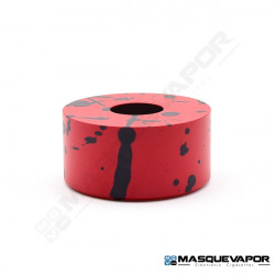 ASGARD RDA BEAUTY RING BY VAPERZ CLOUD RED BLACK