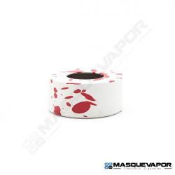 ASGARD MINI RDA BEAUTY RING BY VAPERZ CLOUD WHITE RED