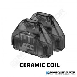 2 X CARTUCHOS CERAMIC 1.3OHM AVP POD ASPIRE TPD 2ML