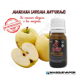 MANZANA NATURAL 100% VG FLAVOR 10ML OIL4VAP