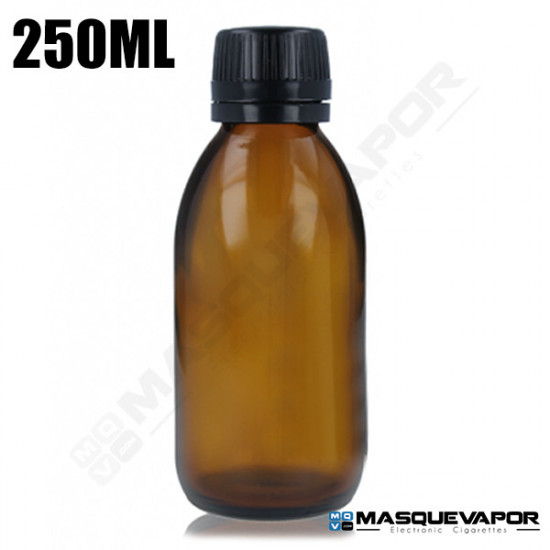 250ML GLASS AMBER BOTTLE