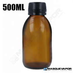 500ML GLASS AMBER BOTTLE