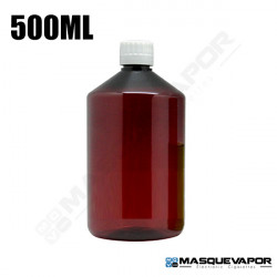 500ML MEDICIN AMBER BOTTLE