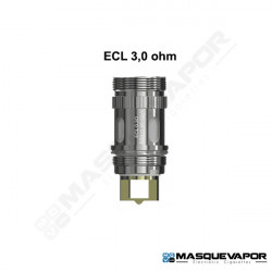 PACK 1 RESISTENCIA ECL 0.3OHM MELO / IJUST 2 / MELO2 / IJUST S