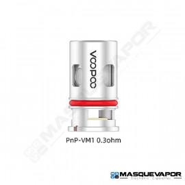 1 X PNP-VM1 0.3OHM VOOPOO VINCI POD - DRAG BABY - FIND S TRIO COIL