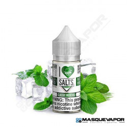 CLASSIC MENTHOL I LOVE SALTS MAD HATTER JUICE TPD 10ML 20MG