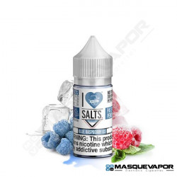 BLUE RASPBERRY ICE I LOVE SALTS MAD HATTER JUICE TPD 10ML 20MG