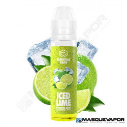 ICED LIME ESSENTIAL VAPE BOMBO 50ML TPD 0MG