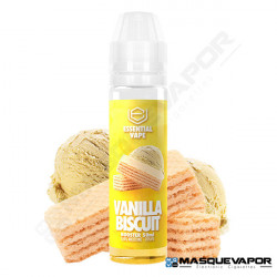 VANILLA BISCUIT ESSENTIAL VAPE BOMBO 50ML TPD 0MG